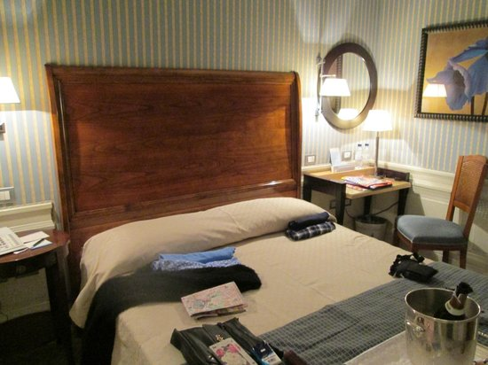 Hotel Stendhal: Our room.