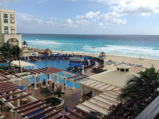 CasaMagna Marriott Cancun Resort : Christmas Day, view from our room