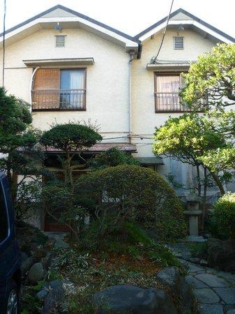 Business Ryokan Maizuru: La parte frontale del ryokan