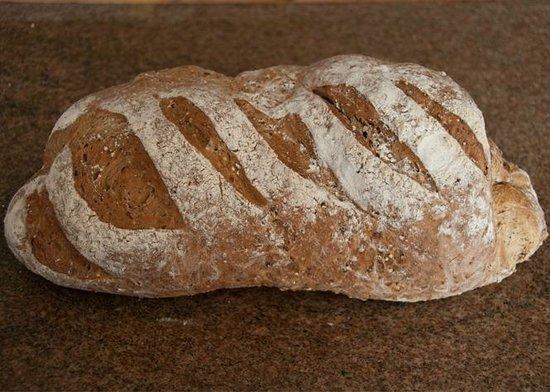 Homemade bread at Fairways Bed and Breakfast Crewkerne Somerset TA18 8RN www.fairwaysbandb.co.uk