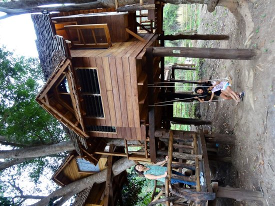 Rabeang Pasak Tree House Resort: Great Swiss Family Robinson Experience