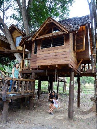 Rabeang Pasak Tree House Resort: Great Swiss Family Robinson Experience