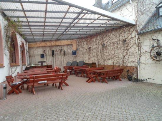 Hotel Kurfürst Kamp: Outside area
