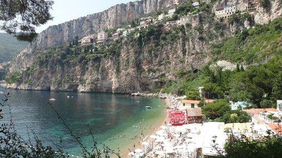 cap d'ail cliff