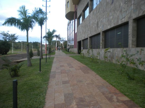 Grand Crucero Iguazú Hotel: frente del hotel