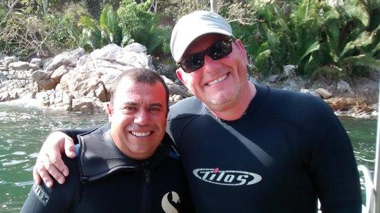 """Vallarta Undersea: Dive Master """"Charlie"""" at Los Arcos"""