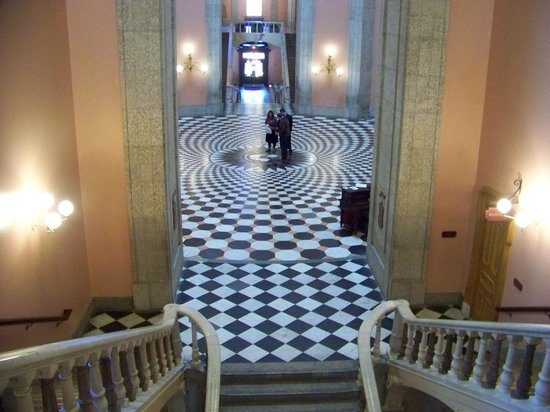 Ohio Statehouse : Central Floor Area