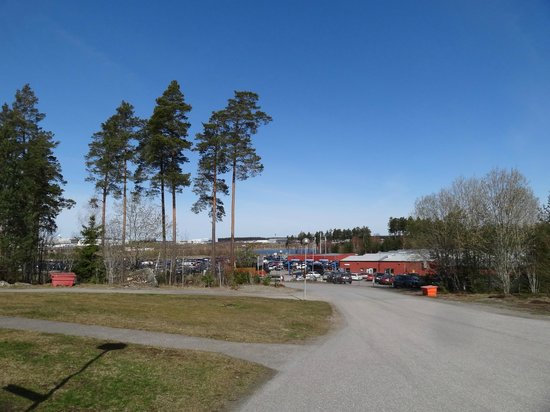 Good Morning Arlanda: View from the hotel entrance