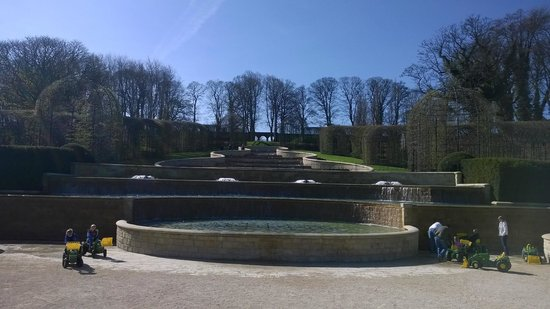 The Alnwick Garden : The centre piece