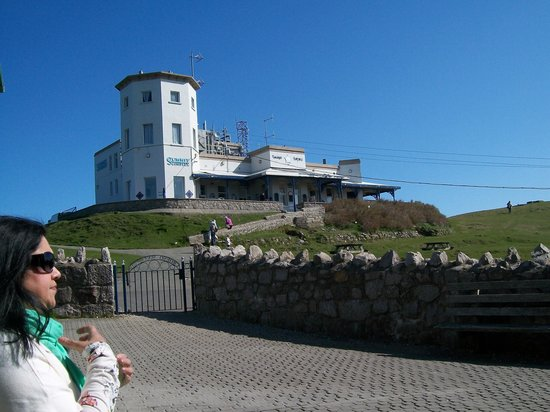 Great Orme Tramway: At the Top of The Great Orme