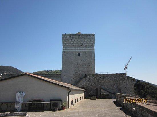 Castello di Lerici : Terrazza del castello