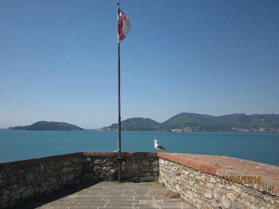 Castello di Lerici : Vista dal castello