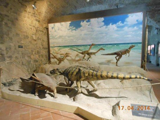 Castello di Lerici : Dinosauri