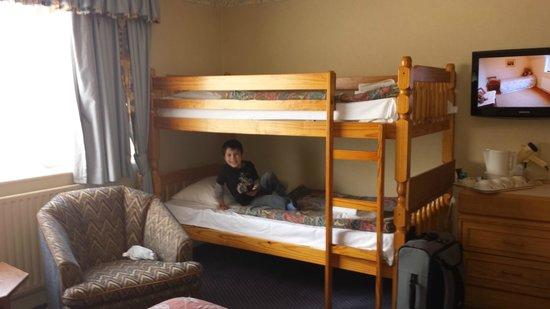 Carrington House Hotel: bunk beds