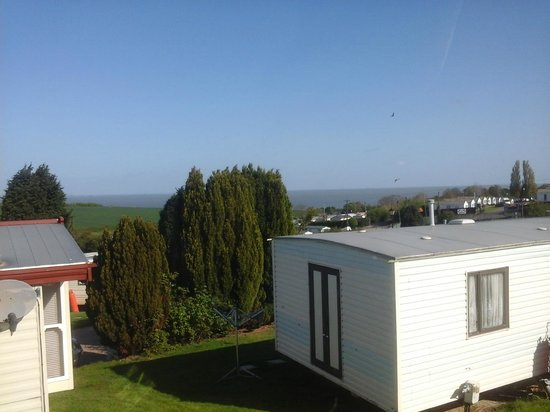 Shurland Dale Holiday Park - Park Resorts: Sea view across to Essex