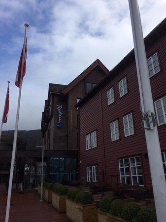 Radisson Blu Royal Hotel, Bergen: Entrée