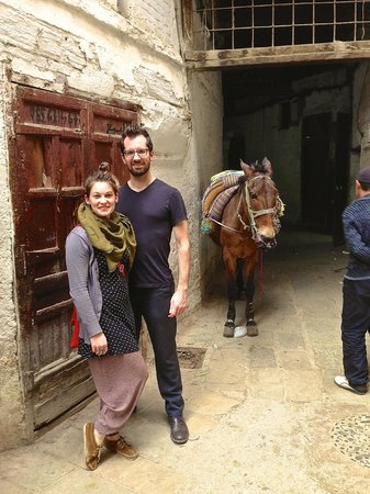 Riad Laayoun: Tour by foot: thanks to Jean Claude