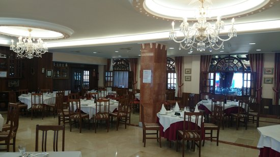 Complejo Copacabana: comedor para bodas
