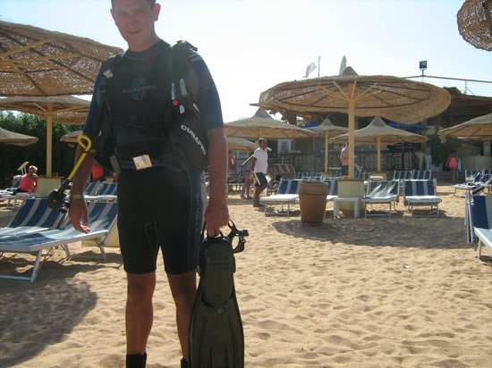 Sierra Sharm El Sheikh : ready for another dive
