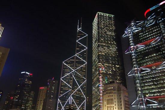 Mandarin Oriental, Hong Kong: 中環のビル群