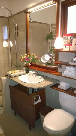 Ha An Hotel: Lovely bathroom with shower only