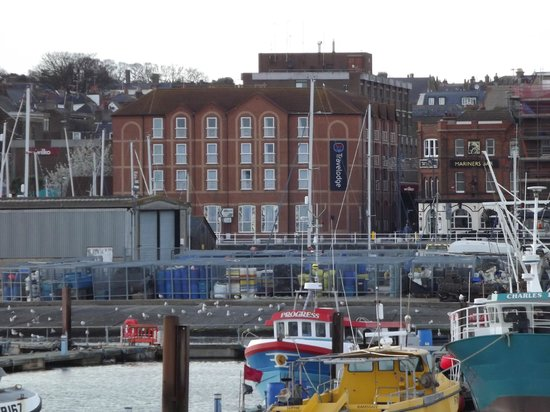 Travelodge Ramsgate Seafront: View from the pier