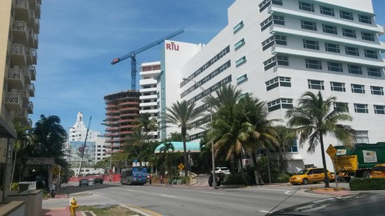 Hotel Riu Plaza Miami Beach : Blick Richting Norden