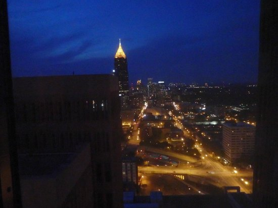 Atlanta Marriott Marquis: View from our room