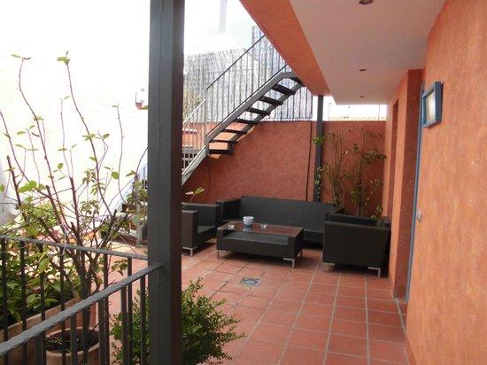 Hotel Conde de Cardenas: zona comun