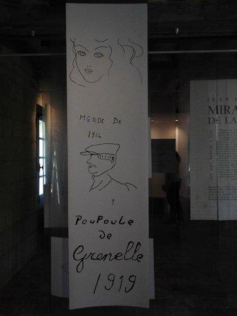Abbaye Royale de Fontevraud : graffitis de prisonnier