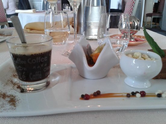 Le Lion d'Or : Le café gourmand du chef