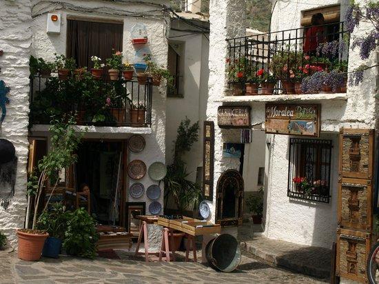 Las Alpujarras: Calle de Pampaneira (Alpujarras)