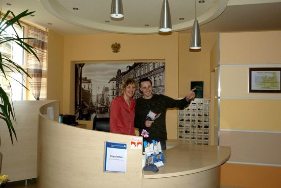 Youth Hostel Lodz: Recepcja