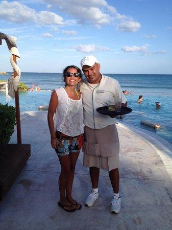 Now Jade Riviera Cancun : Excelente atención de Alvaro RIvera