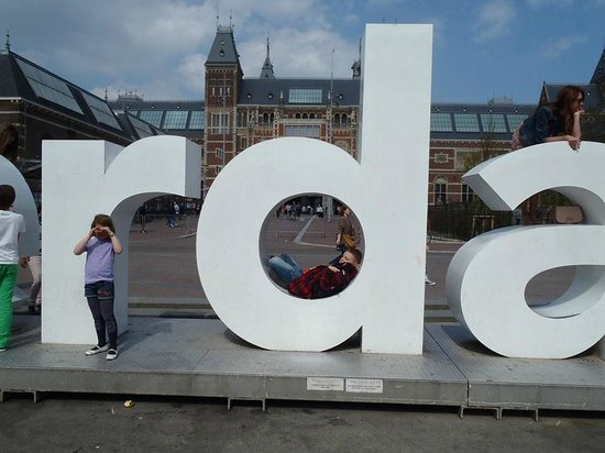 Museum Quarter : I amsterdam