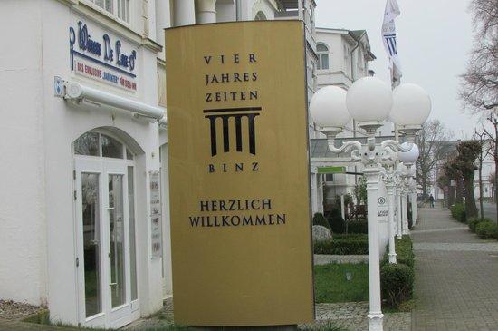 Hotel Vier Jahreszeiten Binz: Hotel Vier Jahreszeiten,Ostseebad Binz