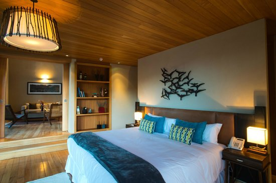Uman Lodge Patagonia Chile: MASTER SUITE