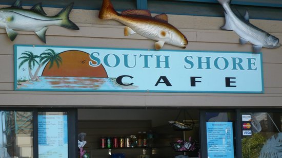 Manatee Viewing Area: small cafe