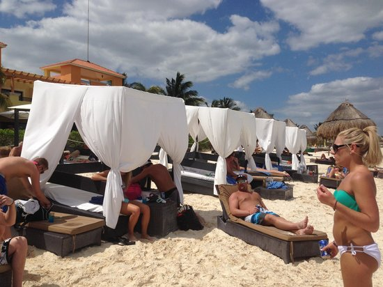 Privilege Cabanas And Beach Area Private Picture Of