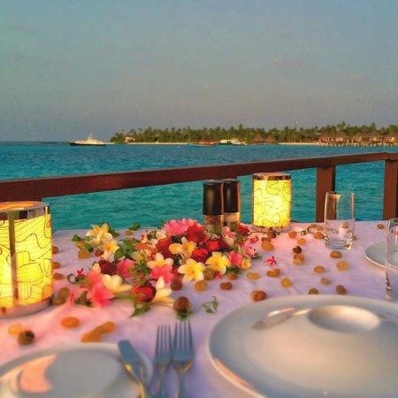 Halaveli Island : Dinner at Jing