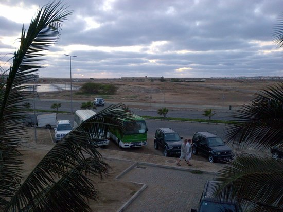 Hotel Pontao: Uitzicht vanaf het balcon