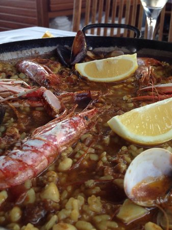 La Taberna del Puerto: Paella