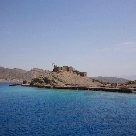 Taba Hotel & Nelson Village: Island / Fortress near Taba