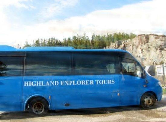 Haggis Adventures: Tour Bus