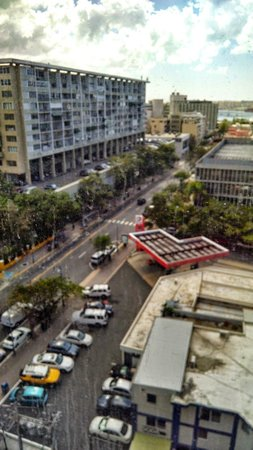 Courtyard San Juan Miramar : View from 1010