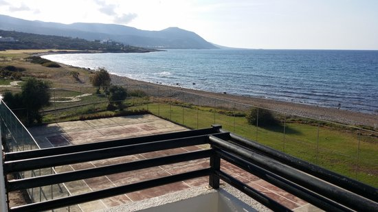 Souli Beach Hotel: view from room