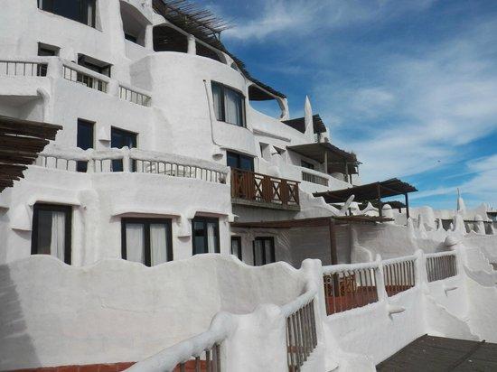 Club Hotel Casapueblo : Fachada parcial