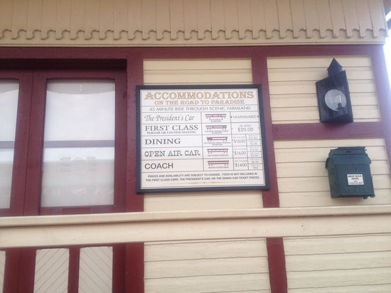 Strasburg Rail Road: Train information