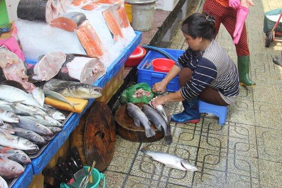 Ben Thanh Market : The market