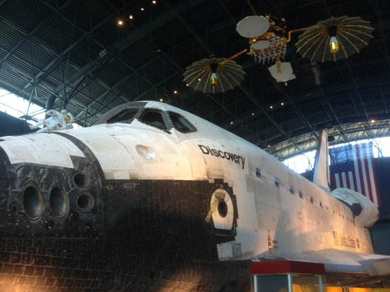 Smithsonian National Air and Space Museum Steven F. Udvar-Hazy Center: Shuttle